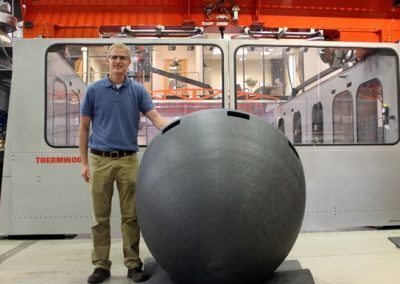 Picture of 3d printed submarine nose