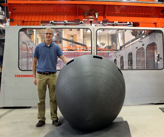 U.S. Navy & Thermwood 3D print a submarine nose