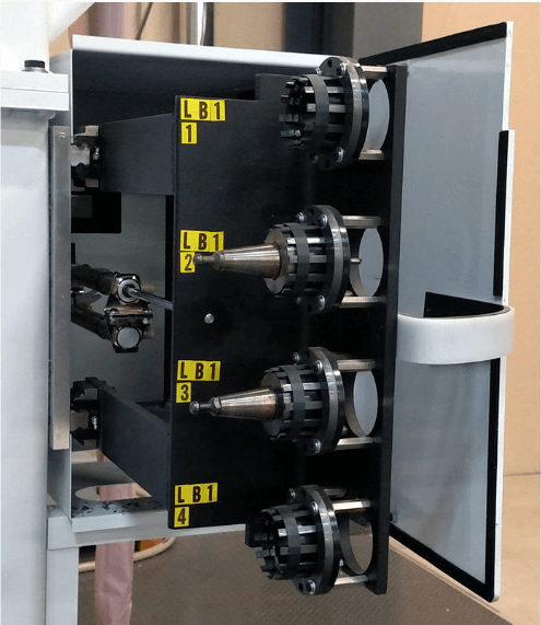 4 position tool changer for 5 axis CNC machine